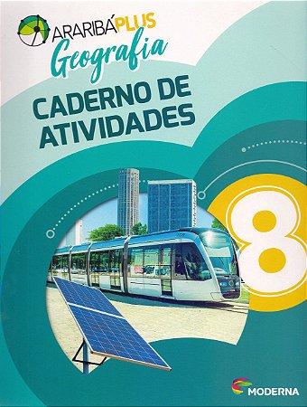 Arariba Plus Geografia 8 - Caderno de Atividades - Edição 5