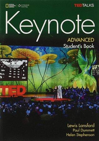 Keynote - BRE - Advanced - Student Book + DVD-ROM + MyELT Online Workbook, Printed Access Code