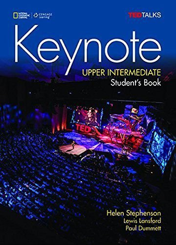 Keynote - BRE - Upper-Intermediate - Student Book + DVD-ROM + MyELT Online Workbook, Printed Access Code