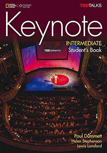Keynote - BRE - Intermediate - Student Book + DVD-ROM + MyELT Online Workbook, Printed Access Code