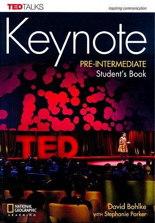 Keynote - BRE - Pre-Intermediate - Student Book + DVD-ROM