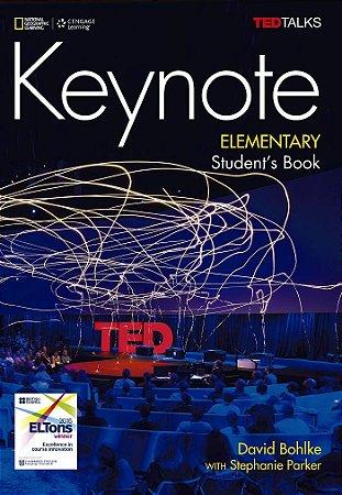 Keynote - BRE - Elementary - Student Book + DVD-ROM