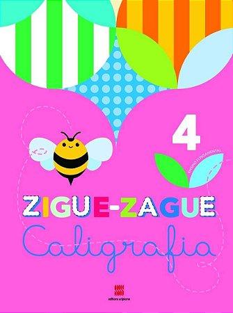 ZIGUE-ZAGUE Caligrafia - 4º Ano