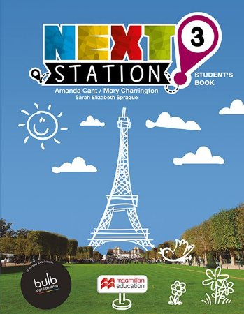 Next Station 3 - Student's Book With Workbook With Bulb