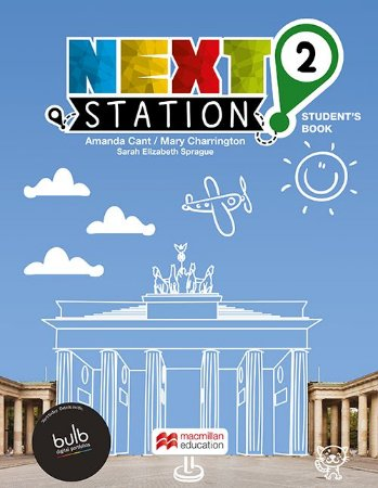 Next Station 2 - Student's Book With Workbook With Bulb