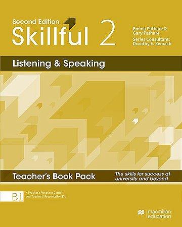 Skillful Listening & Speaking 2 - Teacher's Book Pack Premium