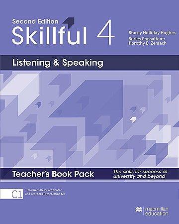 Skillful Listening & Speaking 4 - Teacher's Book Pack Premium