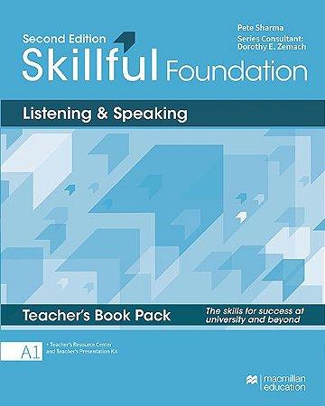 Skillful Listening & Speaking - Teacher's Book Pack Premium - Foundation