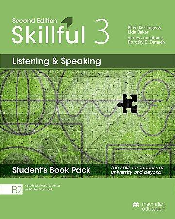 Skillful Listening & Speaking 3 - Student's Book Pack Premium