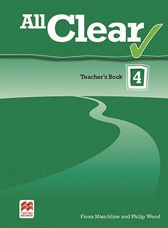 All Clear 4 Teacher's Book Pack