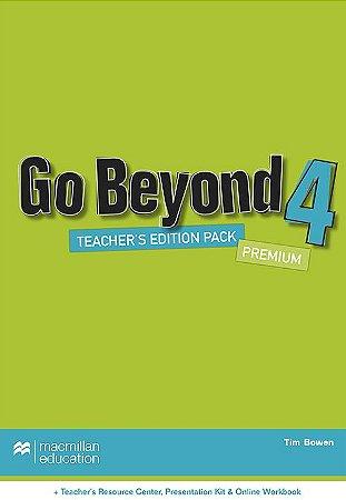 Go Beyond Teacher's Book Premium Pack-4