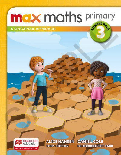 Max Maths Primary 3 - A Singapore Approach - Student Book