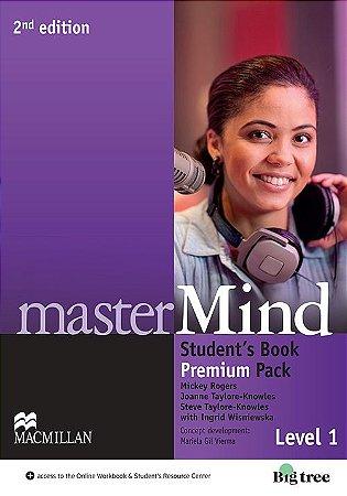 Mastermind 2nd Edition Student's Book W/Webcode & Dvd Premium-1
