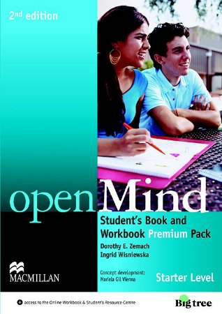Openmind 2nd Edition Student's Book Premium Pack-Starter