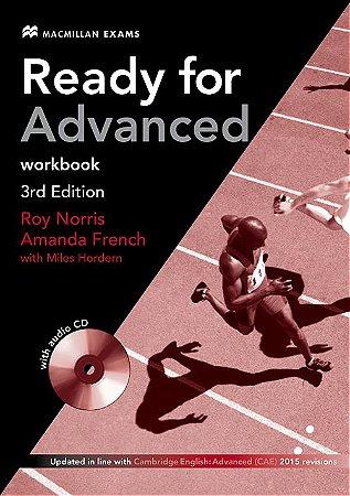 Ready For Adv 3Rd Edition Workbook W/Audio CD (No/Key)
