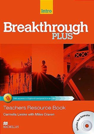 Breakthrough Plus Tb W/ Test Generator E Digibook Code-Intro