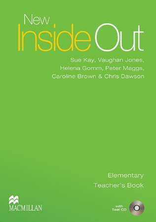 New Inside Out Teacher's Book With Test CD-Elem.