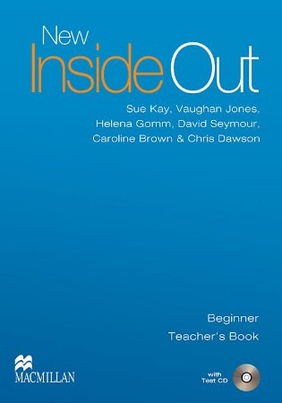 New Inside Out Teacher's Book With Test CD-Beginner