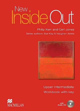 New Inside Out Workbook With Audio CD-Upper-Intermediate (W/Key