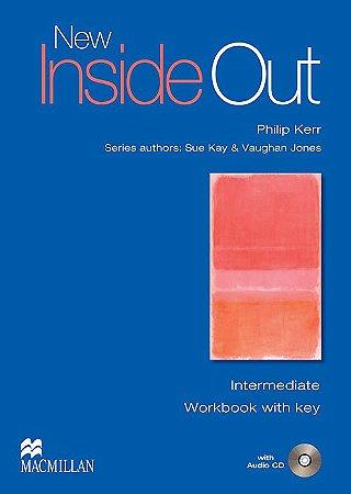 New Inside Out Workbook With Audio CD-Intermediate (W/Key)