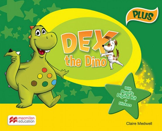 Dex The Dino - With Pupil's Digital Kit + Stickers - Pack Starter