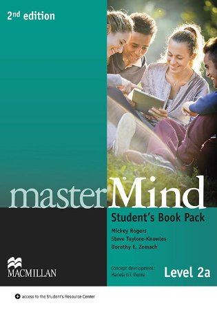 Mastermind 2nd Edition Student's Book W/Webcode & Dvd-2A
