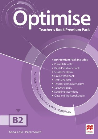 Optimise Teacher's Book Premium Pack B2
