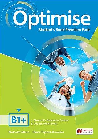 Optimise Student's Book Premium Pack B1+