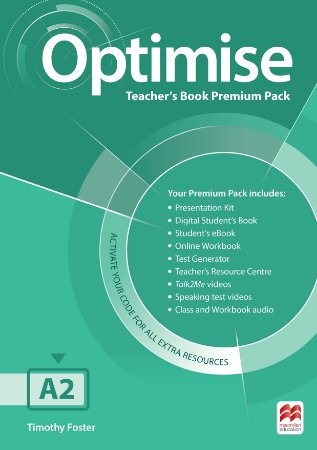 Optimise Teacher's Book Premium Pack A2