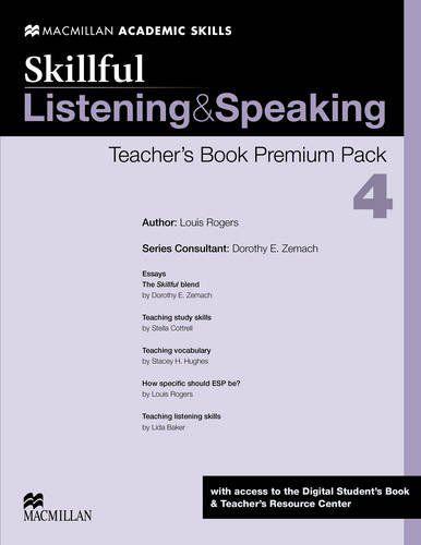 Skillful Listening & Speaking Teacher's Book Premium Pack-4