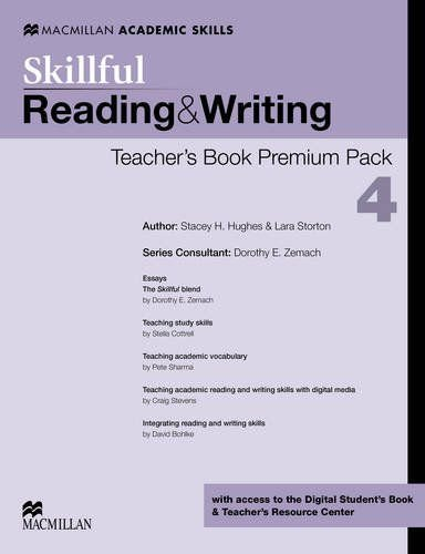 Skillful Reading & Writing Teacher's Book Premium Pack-4