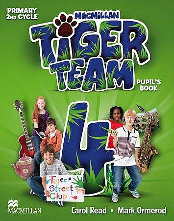 Tiger Team 4 - Pupil's Book Pack