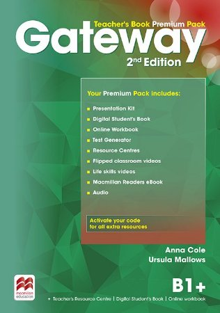Gateway 2nd Edition B1+ Teacher's Book Premium Pack