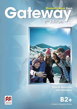 Gateway 2nd Edition Student'S Book Pack W/Workbook B2+