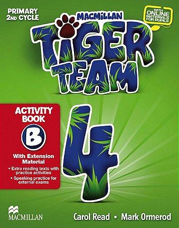 Tiger Team 4B - Activity Book With Progress Journal