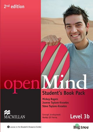 Openmind 2nd Edition Student's Pack With Workbook-3B
