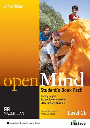 Openmind 2nd Edition Student's Pack With Workbook-2B