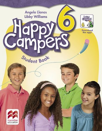 Happy Campers Student'S Book Pack With Skills Book-6