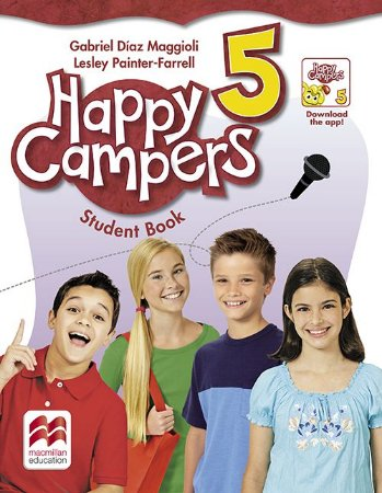 Happy Campers Student'S Book Pack With Skills Book-5