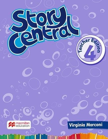 Story Central 4 - Teacher Edition With eBook Pack