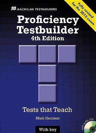New Proficiency Testbuilder 4Th Edition W/Audio CD (W/Key)