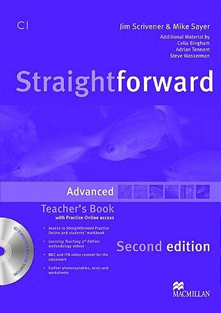 Straightforward 2nd Edition Teacher's Book W/Resource CD-Advanced