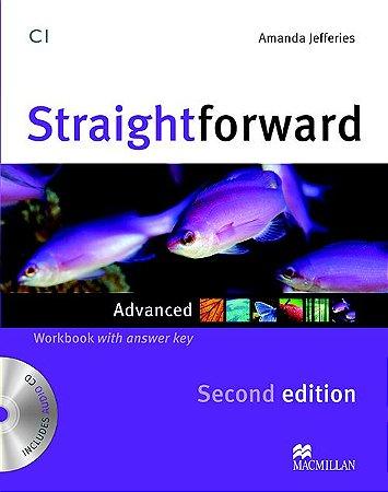 Straightforward 2nd Edition Workbook W/Audio CD-Advanced (W/Key)