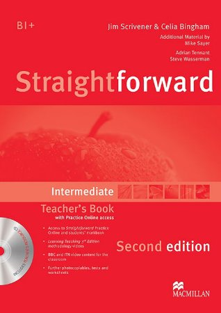 Straightforward 2nd Edition Teacher's Book W/Resource CD-Intermediate