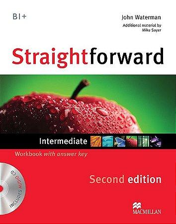 Straightforward 2nd Edition Workbook W/Audio CD-Intermediate (W/Key)