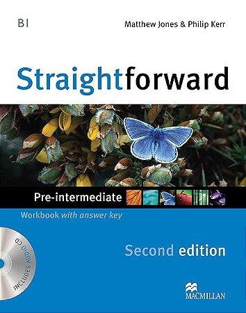 Straightforward 2nd Edition Workbook W/Audio CD-Pre-Intermediate (W/Key)