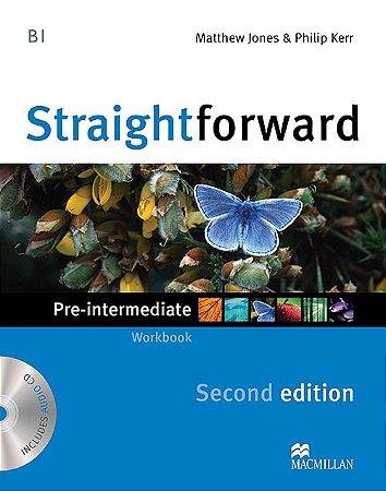 Straightforward 2nd Edition Workbook W/Audio CD-Pre-Intermediate (No/Key)