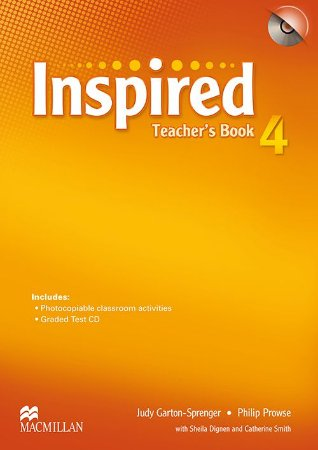 Inspired Teacher's Book With Test CD-4