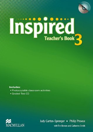 Inspired Teacher's Book With Test CD-3
