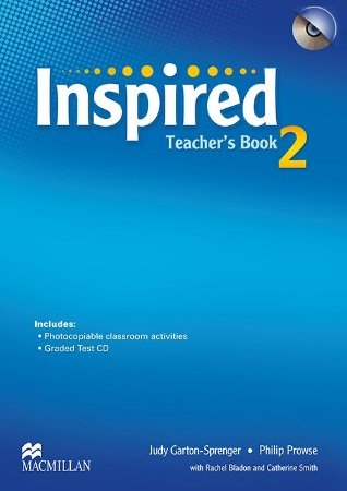 Inspired Teacher's Book With Test CD-2